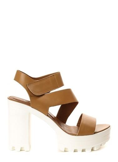 Asymmetry Ayakkabı Taba